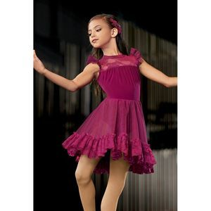 """Weissman """"OOH CHILD"""" #10858 Dance Dress"""